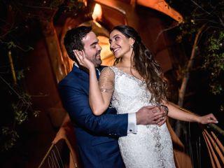 El matrimonio de Naty y Jorge