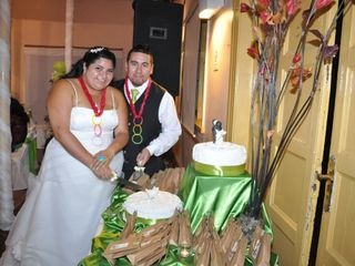 El matrimonio de Alicia y Daniel