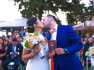 El matrimonio de Samia y Diego