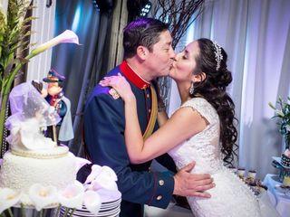 El matrimonio de Liz Bascur y Cristián Venegas