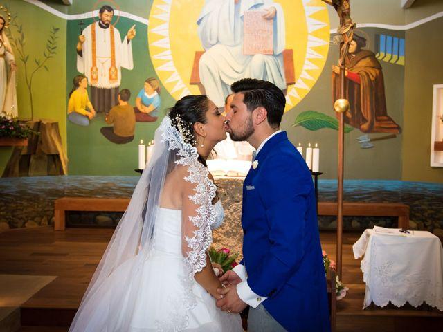 El matrimonio de Macarena  y Allan