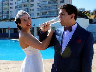 El matrimonio de Jael y Andrés