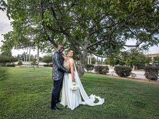 El matrimonio de Dominique y Andy