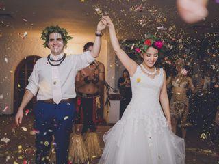 El matrimonio de Gloria y Mauricio