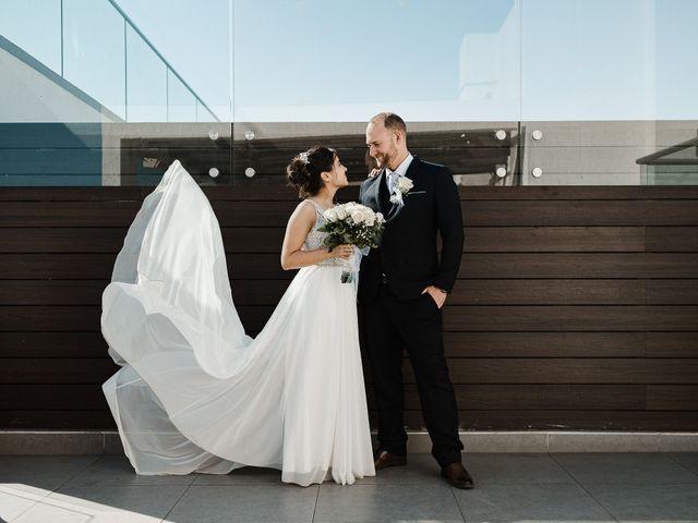 El matrimonio de Fernanda y Cory