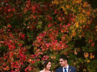El matrimonio de Romina  y Rodrigo  1
