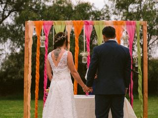 El matrimonio de Romina  y Rodrigo  2