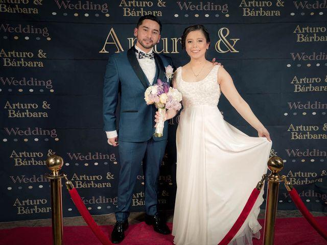 El matrimonio de Bárbara y Arturo