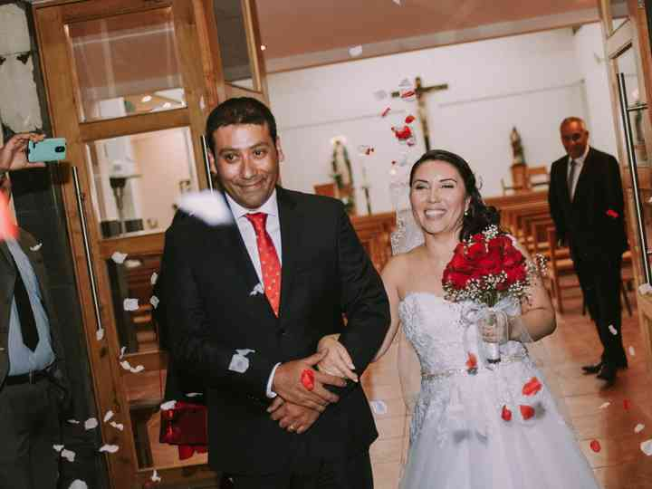 El matrimonio de Bernardita y Alex