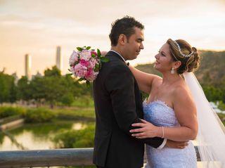 El matrimonio de Sandra y Ernesto 1