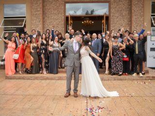 El matrimonio de Loreto y Jordan