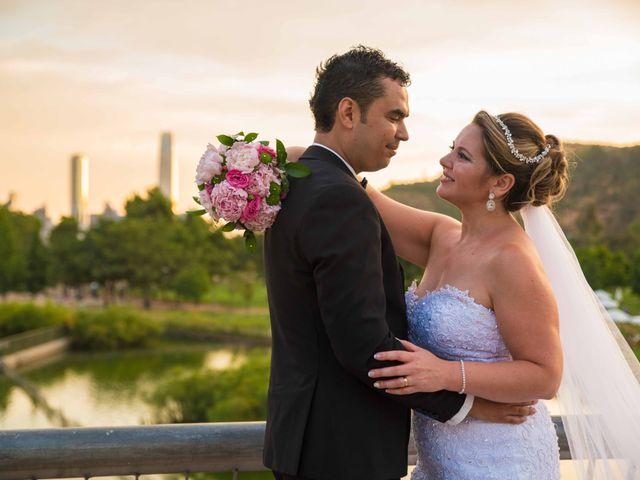 El matrimonio de Sandra y Ernesto