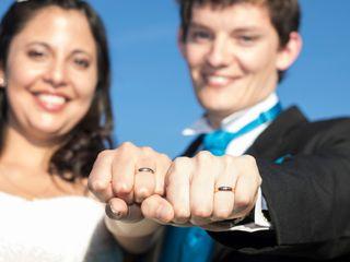 El matrimonio de Pauly y Raúl