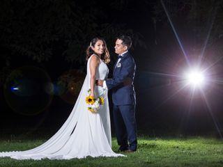 El matrimonio de Claudia y Víctor