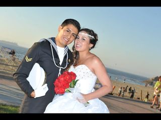 El matrimonio de Estefania y Rodrigo