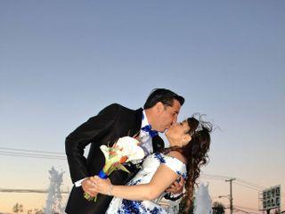 El matrimonio de Claudio  y Carmen Gloria  1