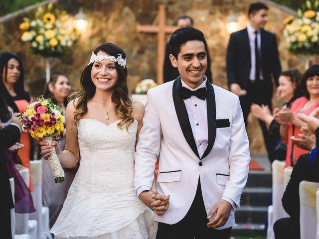El matrimonio de Fernanda y Andy