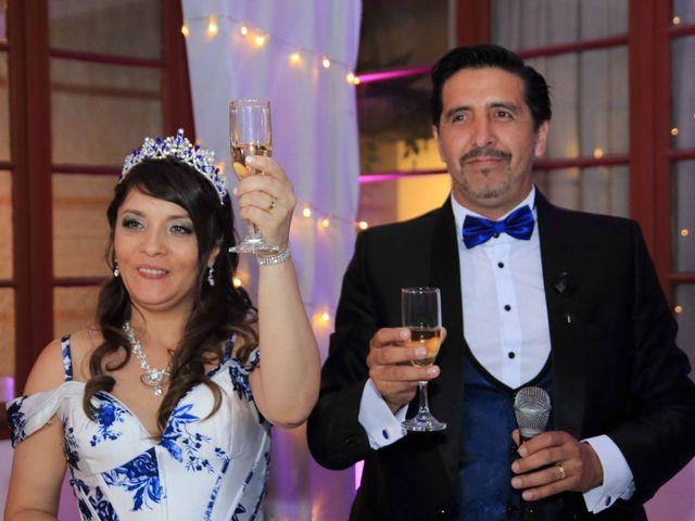El matrimonio de Claudio  y Carmen Gloria