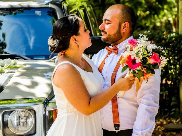 El matrimonio de Vannesa y Cristobal