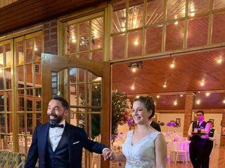 El matrimonio de María de los Angeles y Claudio Andrés