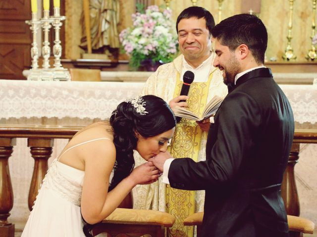 El matrimonio de Alex y Estefania en Graneros, Cachapoal 24