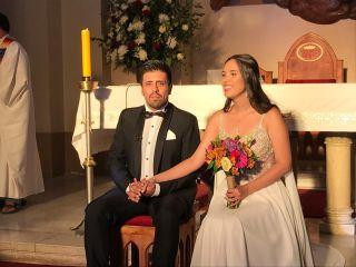 El matrimonio de Esteban y Danella 1
