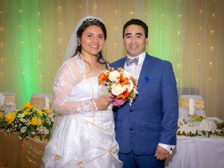 El matrimonio de Angélica y Cristian