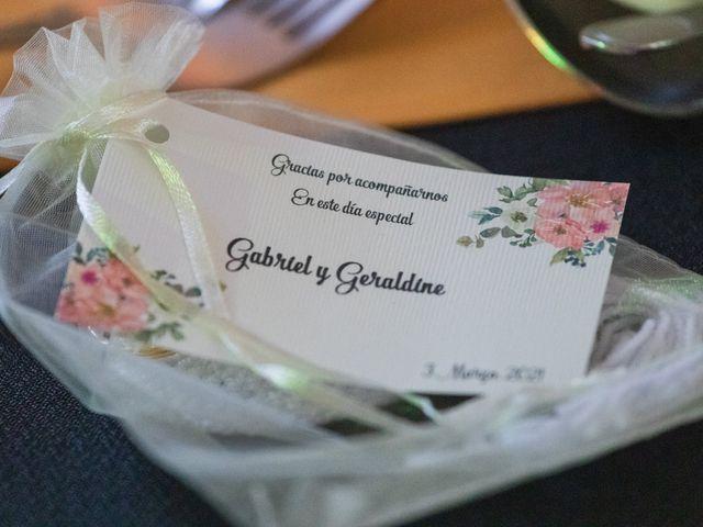 El matrimonio de Geraldine y Gabriel en La Reina, Santiago 5
