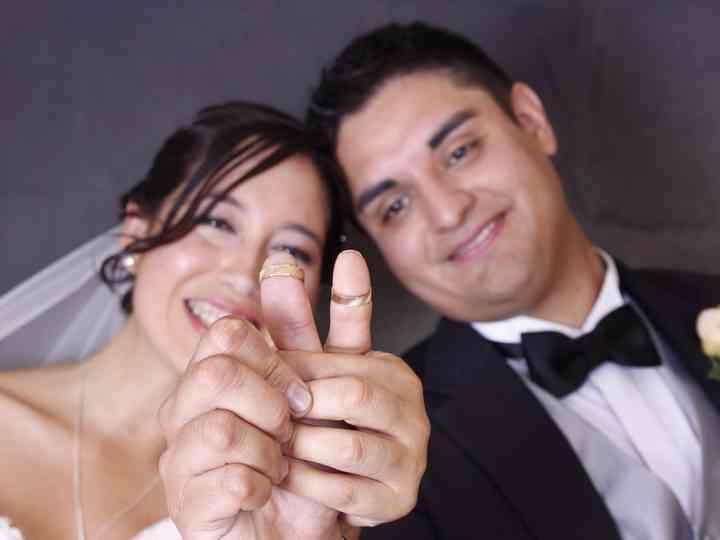 El matrimonio de Macarena y César