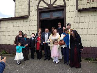 El matrimonio de Inge y Alejandro