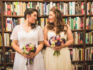 El matrimonio de Ivory y Gabriela
