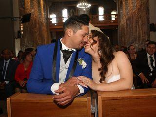 El matrimonio de Karina y Enrique