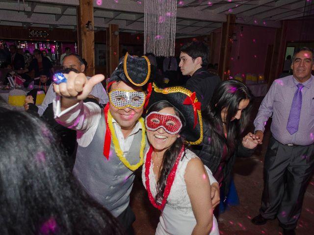 El matrimonio de Mario y Yuri en Curacautín, Malleco 123