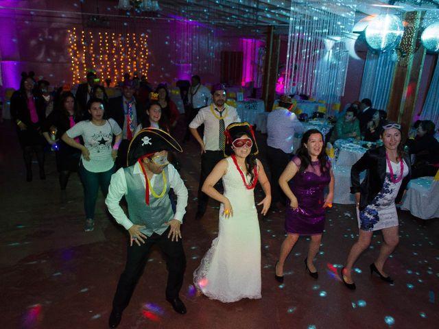 El matrimonio de Mario y Yuri en Curacautín, Malleco 131