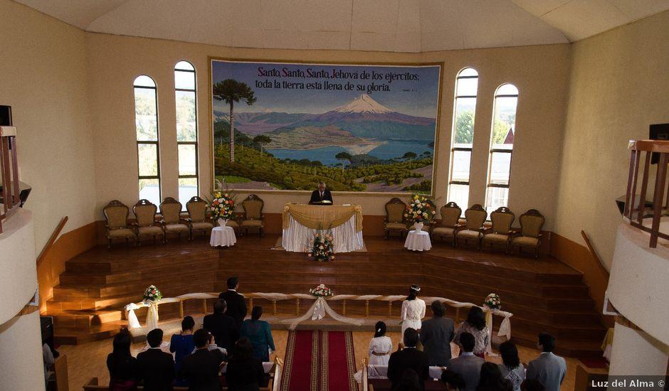 El matrimonio de Mario y Yuri en Curacautín, Malleco