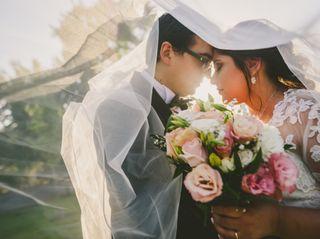El matrimonio de Verónica y Jorge