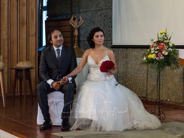 El matrimonio de Gilda y Claudio