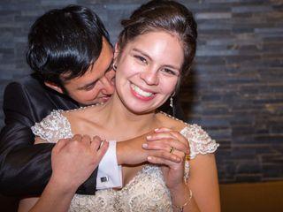 El matrimonio de Catalina y Luis