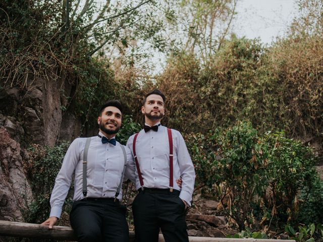 El matrimonio de Marcelo y Alexander en Providencia, Santiago 15