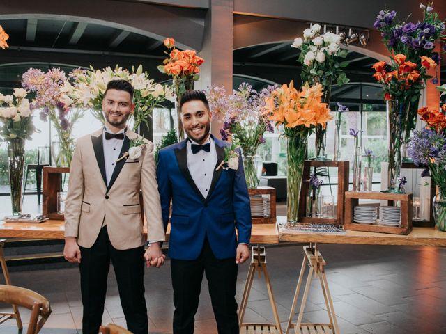 El matrimonio de Alexander y Marcelo