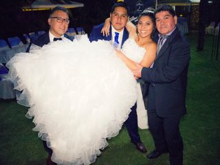 El matrimonio de Laura y Alexis 1