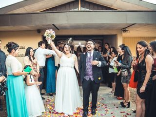 El matrimonio de Romina  y Eder