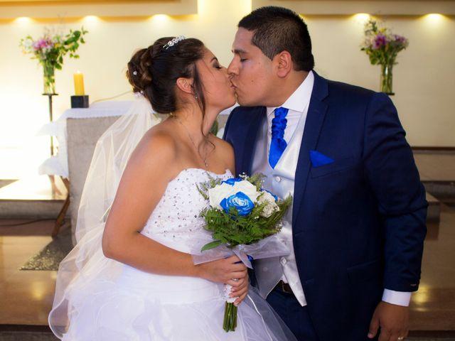 El matrimonio de Laura y Alexis