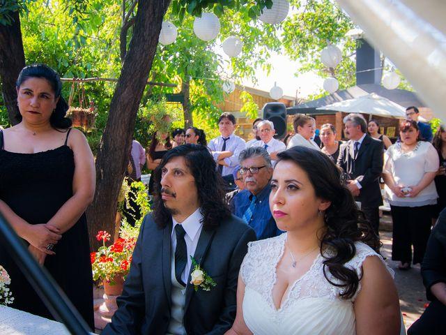 El matrimonio de Lorena y Waldo