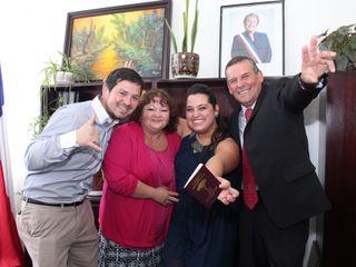 El matrimonio de Paula  y Carlos  2
