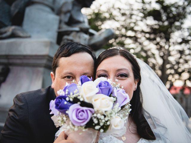 El matrimonio de Violeta y Deiby