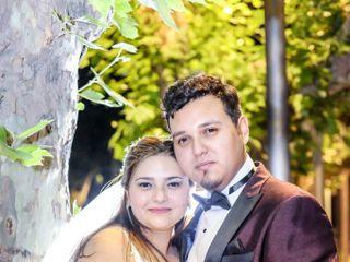 El matrimonio de Judy y Rogelio