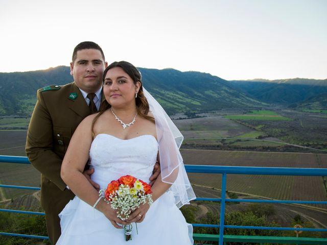 El matrimonio de Yennifer y Ariel