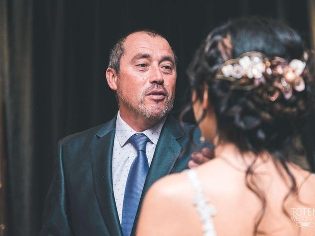 El matrimonio de Francisco  y Karime  en El Monte, Talagante 34
