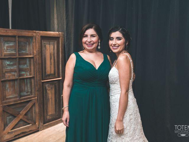 El matrimonio de Francisco  y Karime  en El Monte, Talagante 36